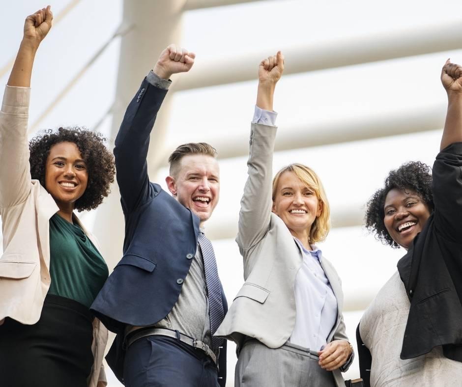 Leaders Team Success